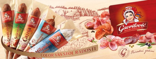 Salami range of products